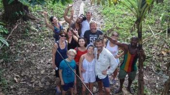 Visite de la tribu Bri-bri